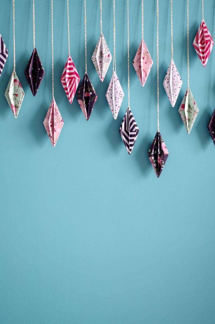 25 best ideas about Origami decoration on