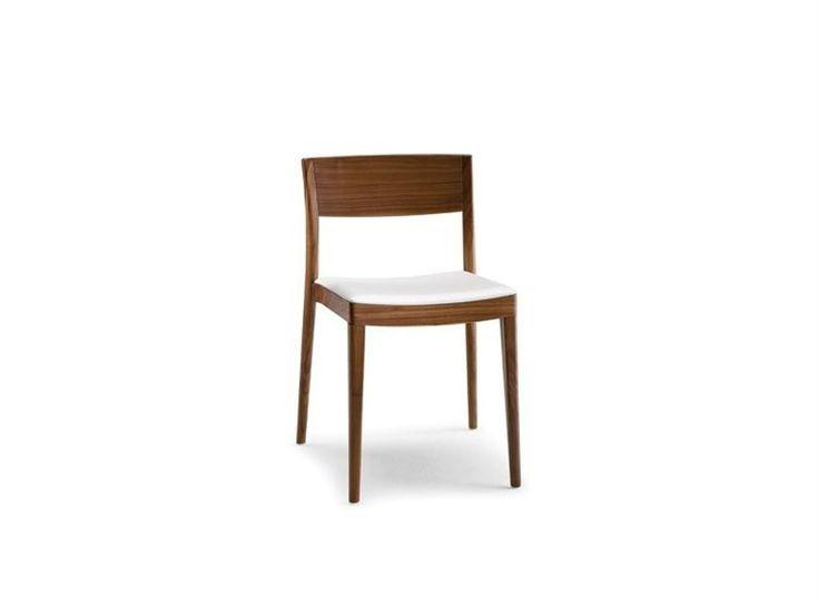 Sedia in legno massello in stile moderno MISS 151 by Tonon | design Guggenbichler design