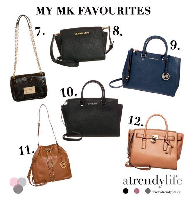 Selección Bolsos Michael Kors. A trendy life. #seleccionbolsos #michaelkors #personalshopper #bags #specialbags #mymkfavourites #fashionblogger #atrendylife www.atrendylifestyle.com