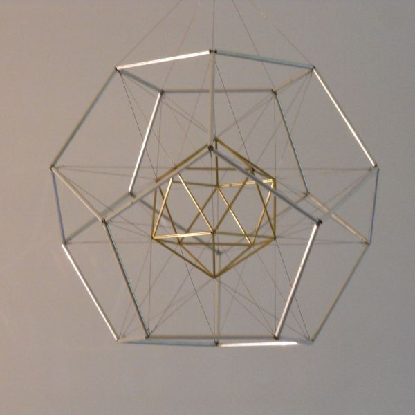 17 Best images about STRINGART || OBJECTS || INSTALLATION ... Platonic Solids Art
