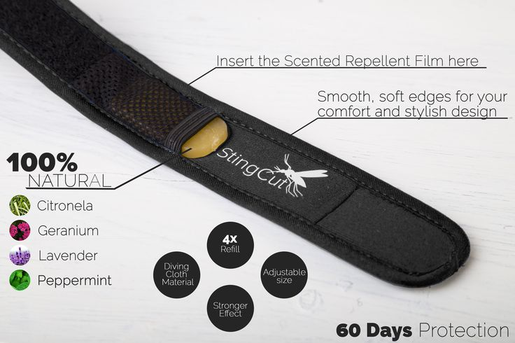 Be prepared for Rio2016! Mosquito Repellent Bracelet by StingCut! 37% off