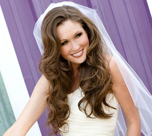 Cute Wedding Hairstyles for Shoulder Length Hair with Veil - New Hairstyles, Haircuts & Hair Color Ideas