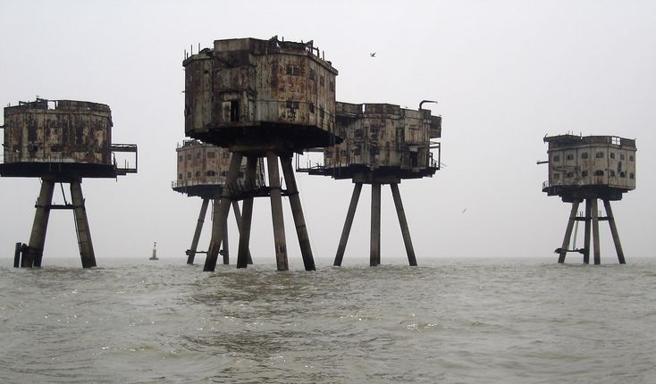 The Maunsell Sea Forts, England - Google-Suche
