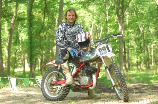 Trampas Parker, first American to win two Motocross GP world titles; multi-time Italian national MX champ.