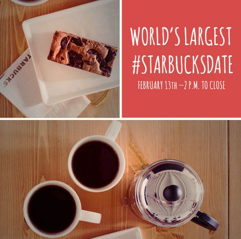 Celebrate Loveat Starbucks with a special treat. You can get the perfect pairings of coffee and a treat to go for just $5! You can choose from the following pairings: French press Caffé Verona & a chocolate brownie, Raspberry or …