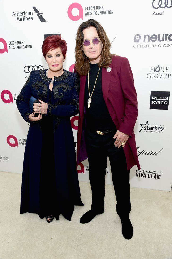 Pin for Later: Elton John's Star-Studded Oscars Bash Is Where the Party's At Sharon Osbourne and Ozzie Osbourne
