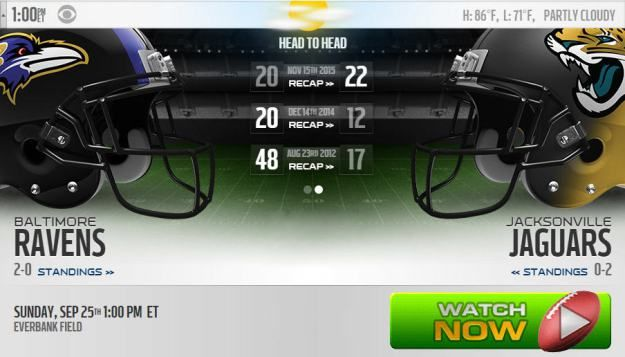 Watch Ravens vs Jaguars Live: Stream NFL Week 3 Game Threads.
