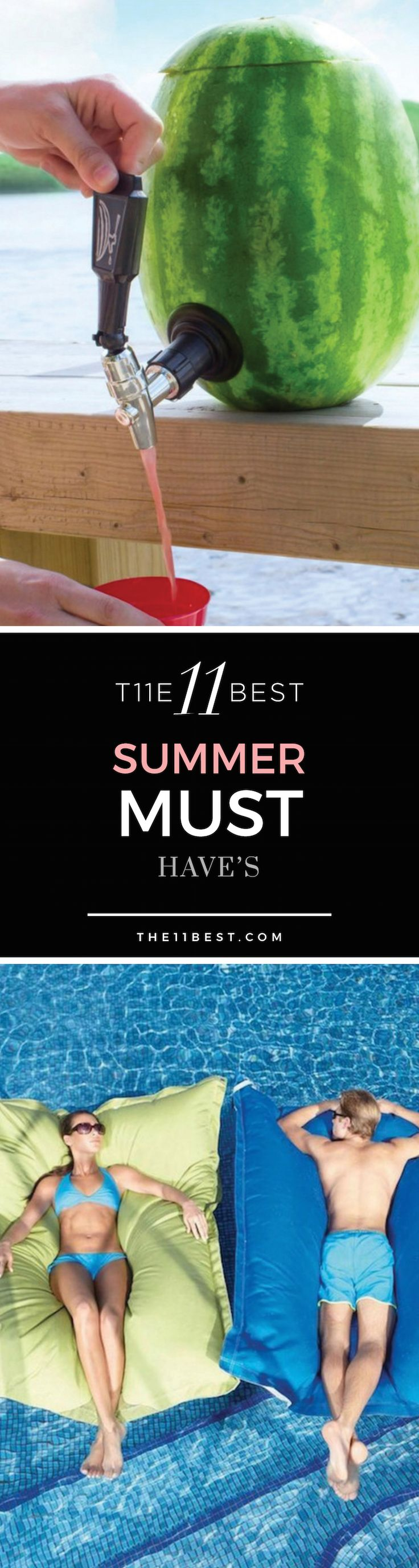 Summer Must Have's. The best outdoor accessories, pool party rafts & chairs, and hot weather toys for the summer!