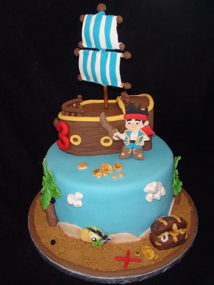 jack the neverland cake /gâteau jack le pirate création maman gateau