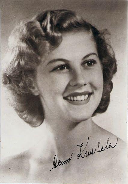 Miss University Armi Kuusela y. 1952 from Finland