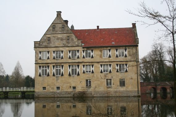 Burg Hülshoff | Havixbeck | Kreis Coesfeld | NRW | 2006 | (c) Rainer Wermelt | rainerwermelt.de