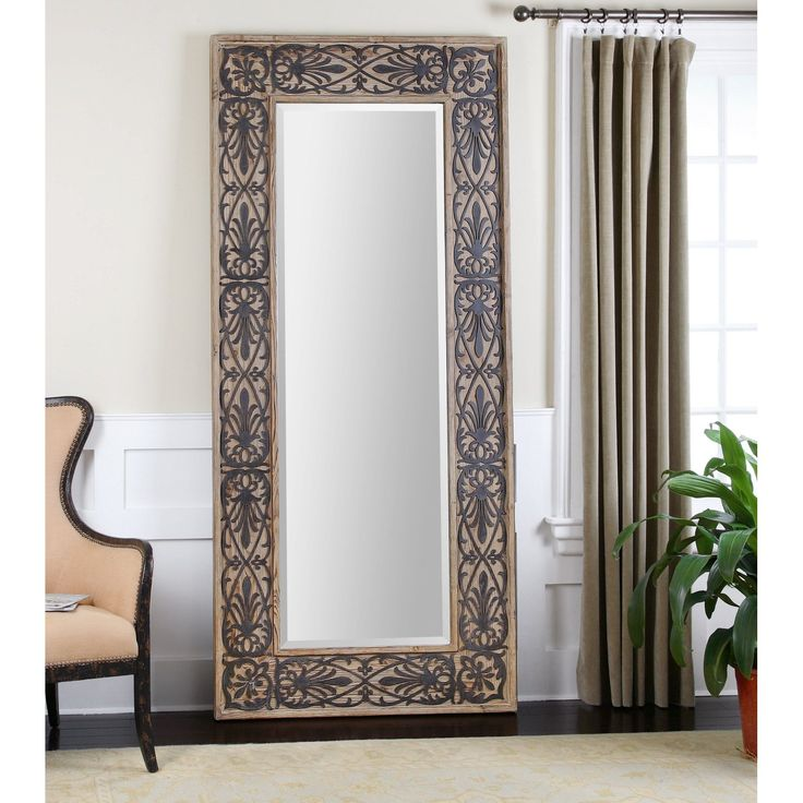35 best mirrors images on pinterest floor mirrors for Standing mirror frame