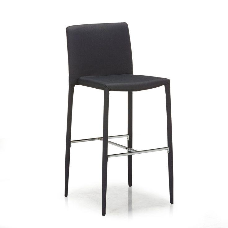 Chaise de bar grise Gris - Slash - Tabourets hauts - Tables et chaises - Salon et salle à manger - Décoration d'intérieur - Alinéa