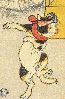 「踊るネコ」江戸時代のエッセイ『甲子夜話』より|貧乏酒