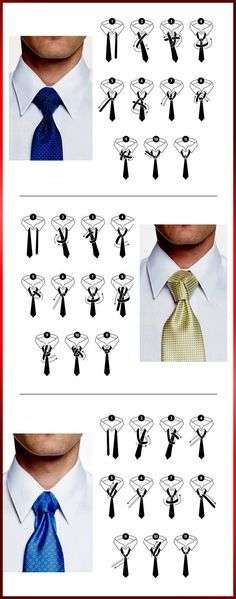 Cravate Les 3 Noeuds élégants pour hommes (étape par étape)