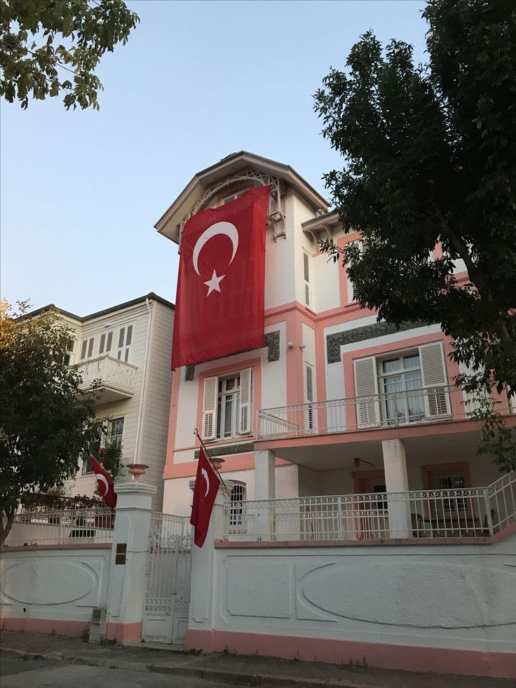 İnönü Evi Müzesi , Heybeliada. 2017 Temmuz.
