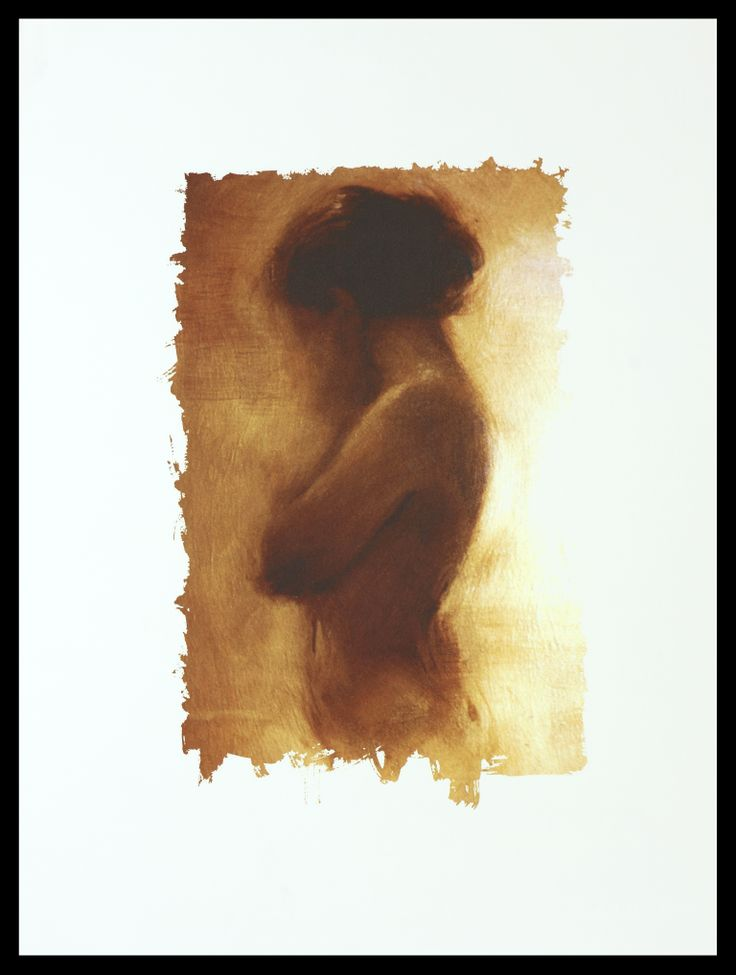 Charlie Mackesy | Girl on Gold | Limited Edition Signed Lithograph