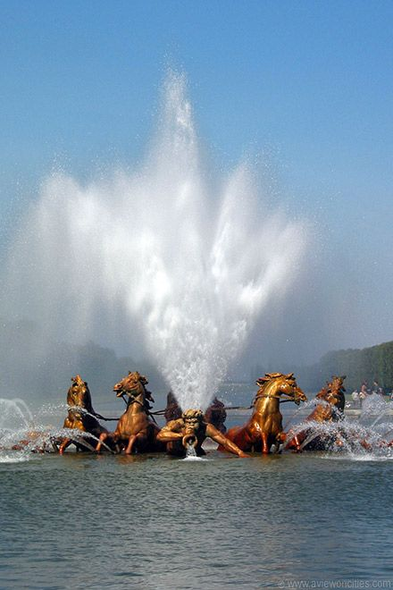 Apollo Fountain, Versailles - The Palace of Versailles is an amazingly decadent place. A one-of-a-kind experience, for sure.