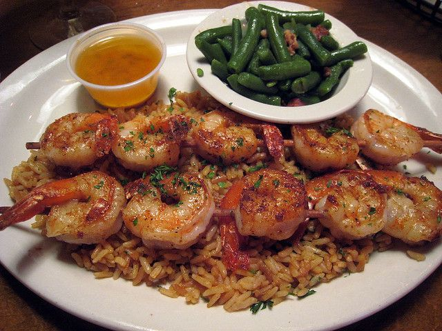 Grilled Shrimp at Texas Roadhouse by Boots in the Oven, via Flickr