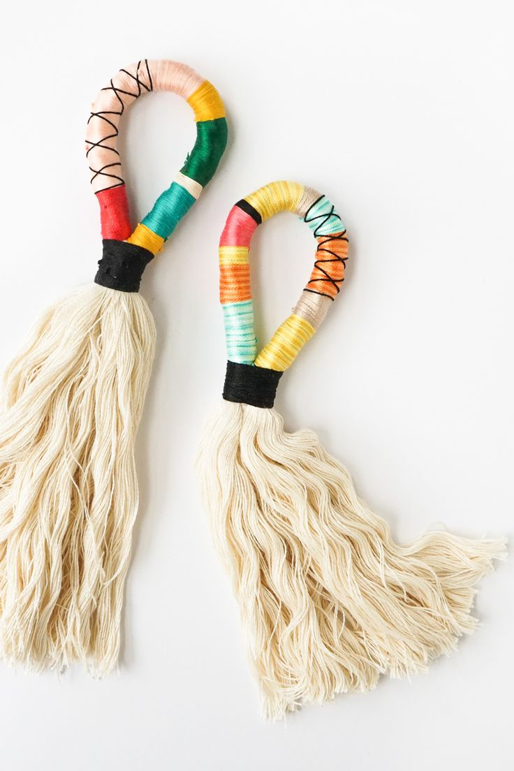 DIY Door Handle Tassels