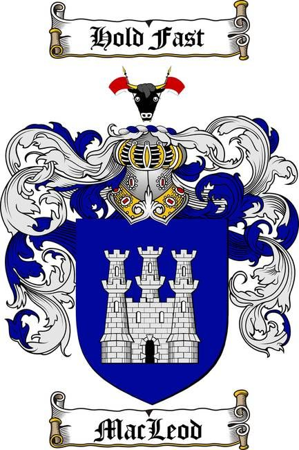 Macleod Coat Of Arms Family Crest