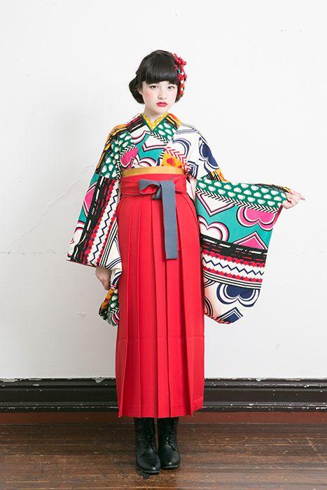 アートを着る!個性的な柄の袴で最高の1日に♡ MERY [メリー]