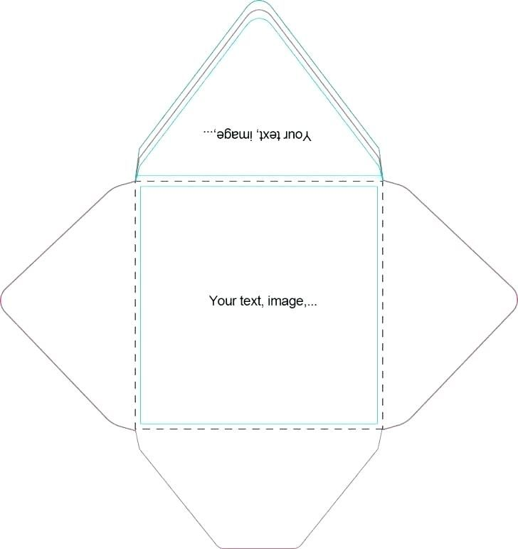 Square Envelope Template Medium Size Large A9 Dimensions Strand Dna Replication Envelope Template Printing Labels Square Envelopes