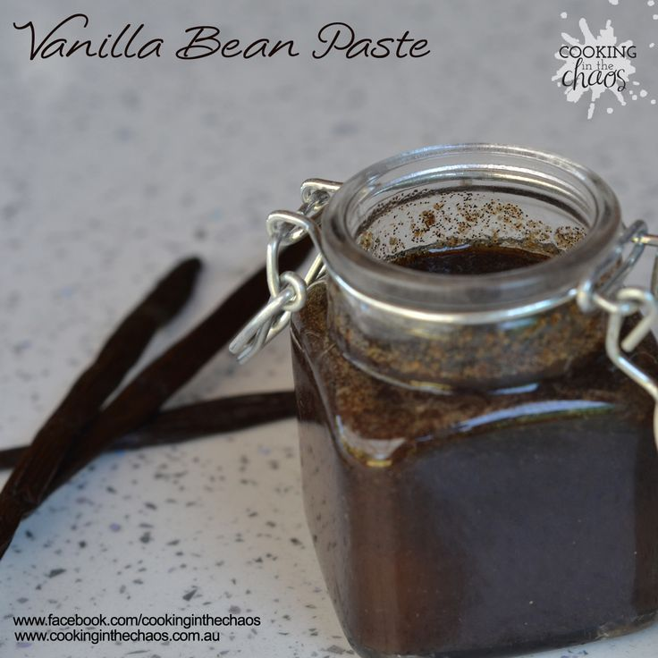 Vanilla Bean Paste - Thermomix Recipe - Cooking in the Choas