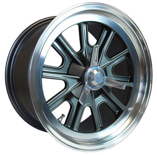 "17"" x 9"" and 17"" x 10.5"" Vintage Halibrand Replica Wheels - Factory Five Parts Catalog"