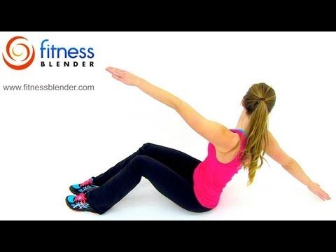 HIIT Cardio and Abs Workout – 30 Minute At Home HIIT Workout with Abs Exercises, Fitness Blender