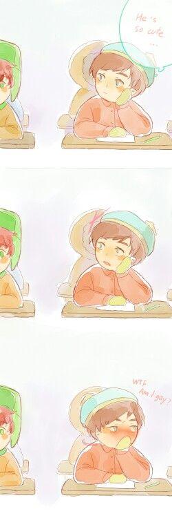 Cartman x kyle (South Park Anime)