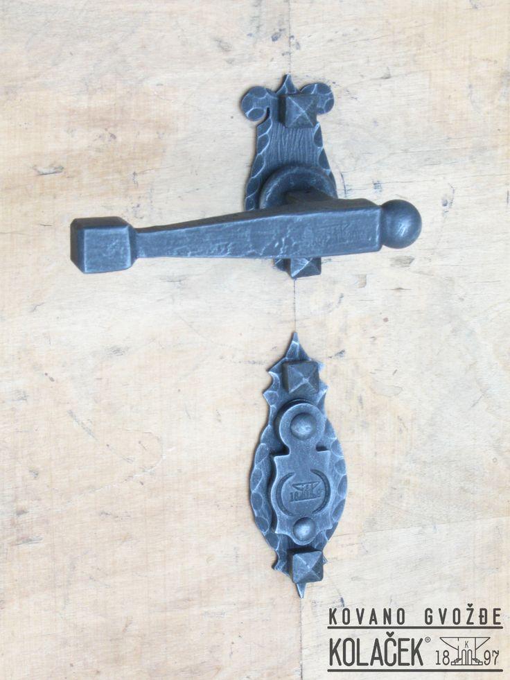 Kvaka od kovanog gvozdja. Kolacek 1897