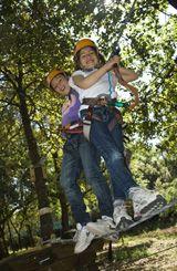 Campi solari estivi per bambini in Toscana al parco divertimenti Saltalbero, a Siena