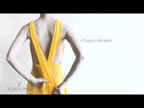 Von Vonni Transformer Dress - Instructions. - YouTube