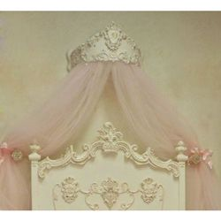 1000 Images About Bed Crown On Pinterest Country French