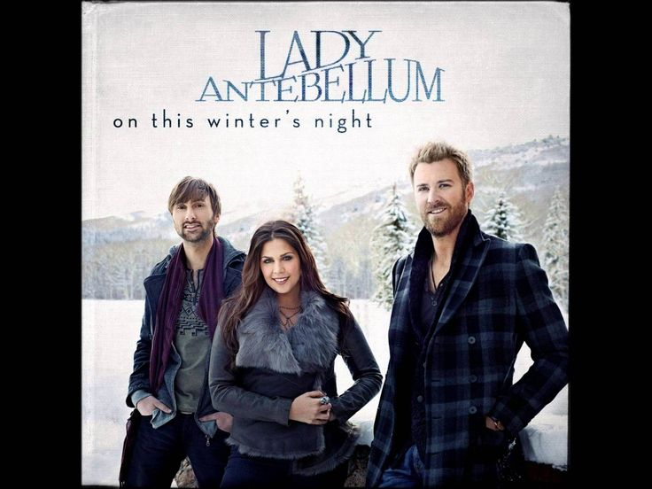 All I Want For Christmas Is You by Lady Antebellum (Album Cover) (HD)   Lady antebellum, Lady ...