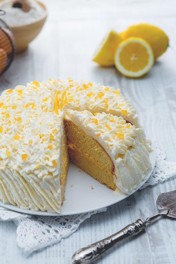 Torta paradiso al limone: un classico intramontabile e antico della pasticceria, rivisitato in chiave più fresca!  [Paradiso cake with lemon]