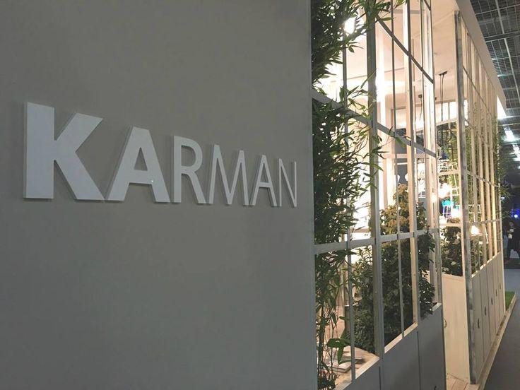 Exhibition Stand Karman Italia Light+Building 2016. www.karmanitalia.it