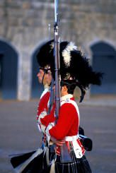 Changing of the guard - The Citidel, Halifax, Nova Scotia