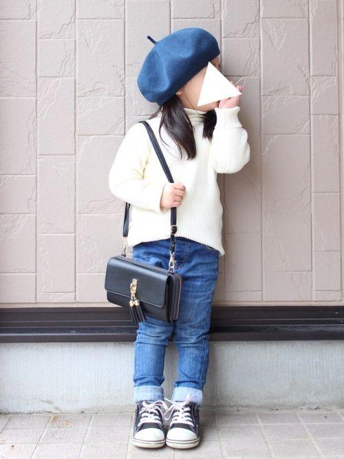 春夏素材のベレー帽♡ 身長 93cm béret sizeM