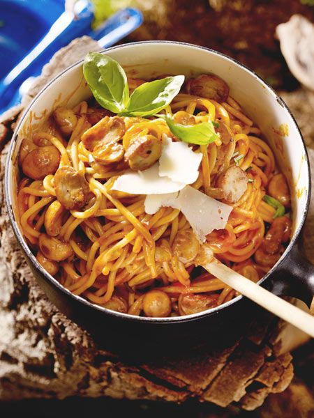 One-Pot-Pasta - Perfekt für's Campen! Dosen-Ravioli waren gestern!