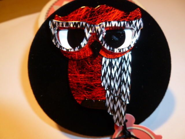 Erstwilder 'Waldo Owl' Resin Bird Brooch *GIFT - *SPECIAL OFFERS!! in Jewellery & Watches | eBay