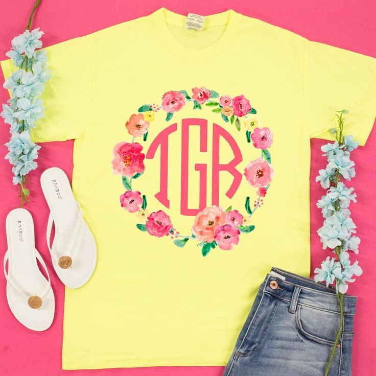 """5,298 Likes, 2 Comments - The Pink Lily Boutique (@thepinklilyboutique) on Instagram: """"Grab your monogram tee now to rock all Summer long! (shop link in bio) #pinklily…"""""""