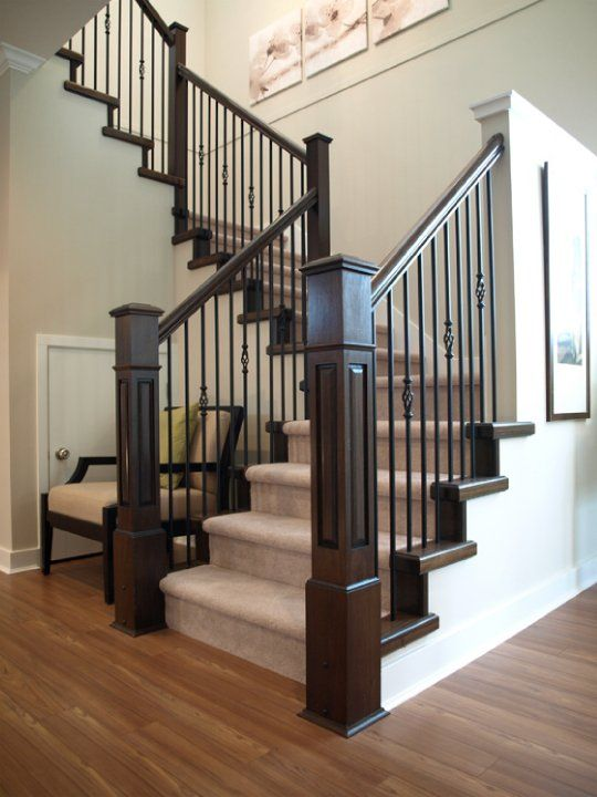 Best 25 staircase railings ideas that you will like on - Interior stair railing contractors ...