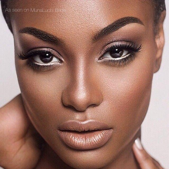 munaluchibride: Natural makeup by @shatayabeauty. Are you wearing nude or color on your lips for your wedding? #munabeauty #munaluchi #munaluchibride