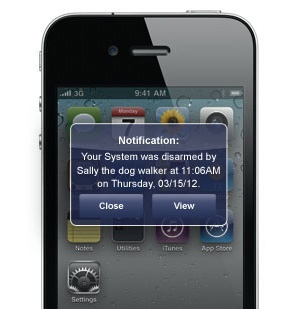 text u0026 email alerts from frontpoint security frontpoint products pinterest security systems