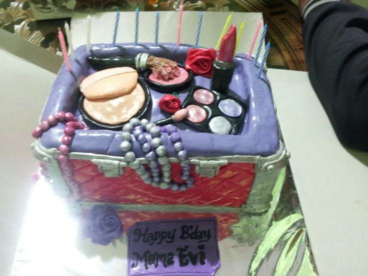 Mom's 3D cake birthday