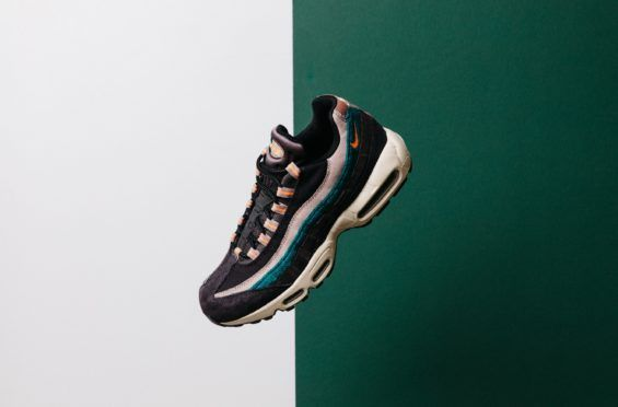 huge selection of 478b5 83673 This Nike Air Max 95 Features Premium Materials And Lots Of Color An array  of colors
