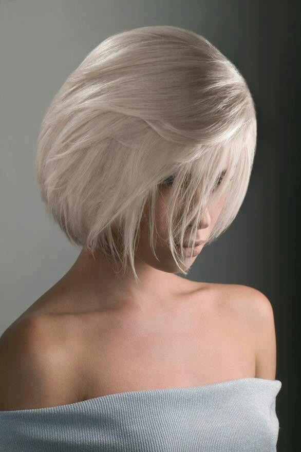 short white hair ideas