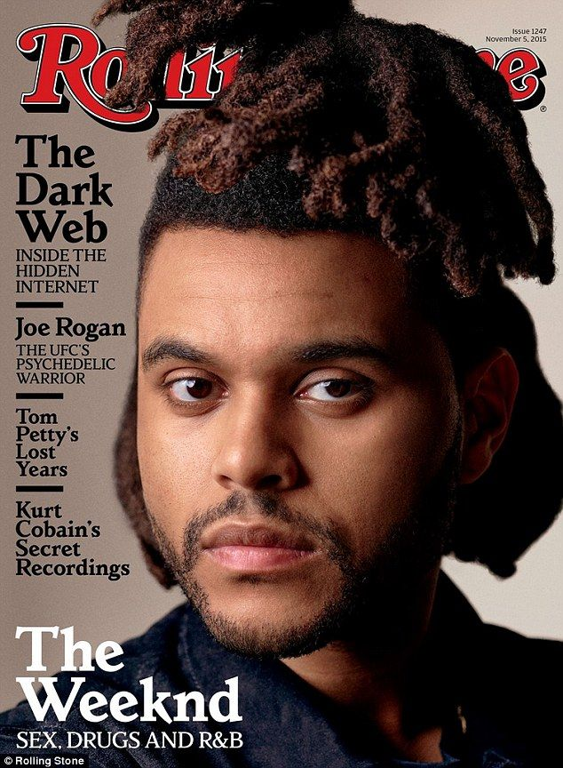 Cover boy: The 25-year-old crooner is on the front of the latest issue of Rolling Stone magazine as he revealed his rather flirty interaction with the pop megastar